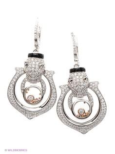 Купить женские серебряные серьги позолоченные в интернет-магазине ... 6197c4a6319