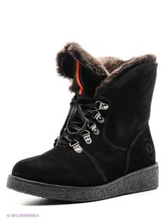 Черные Ботинки Spur