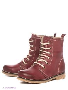 Красные Ботинки VelVet