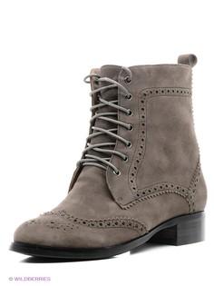 Серые Ботинки Moda Donna