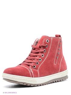 Красные Ботинки Francesco Donni