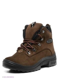 Коричневые Ботинки KUOMA