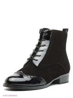 Черные Ботинки Moda Donna