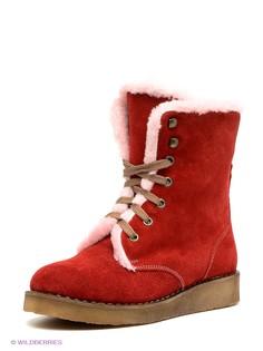 Красные Ботинки Mario Ponti