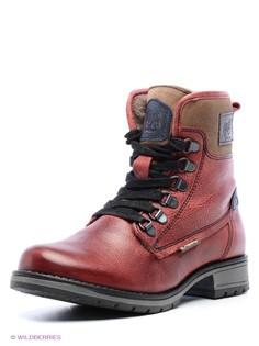 Красные Ботинки El Tempo