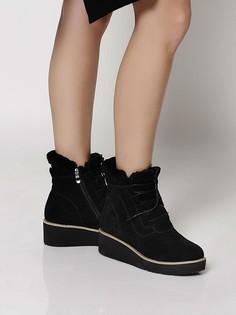 Черные Ботинки BELWEST