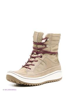 Бежевые Ботинки ECCO