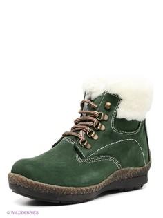 Зеленые Ботинки Mario Ponti