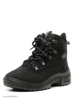 Черные Ботинки KUOMA