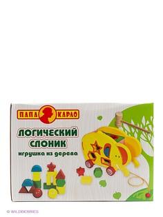 Развивающие игрушки Папа Карло