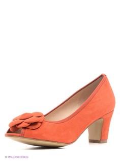 Оранжевые Туфли EVITA