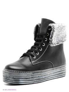 Черные Ботинки Ralf Ringer