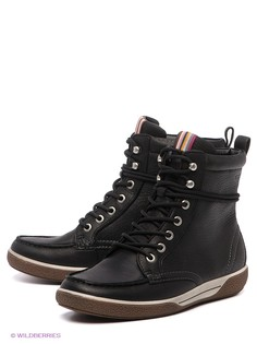 Черные Ботинки ECCO