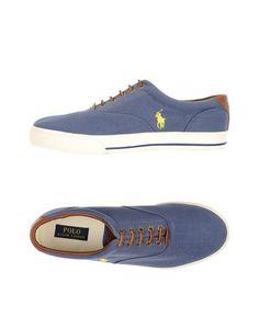 Низкие кеды и кроссовки Polo Ralph Lauren