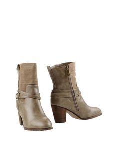Серые Полусапоги и высокие ботинки Trendy TOO