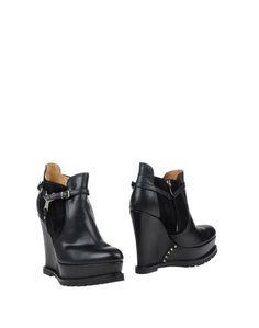 Черные Полусапоги и высокие ботинки Barbara BUI