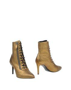 Золотистые Полусапоги и высокие ботинки Barbara BUI