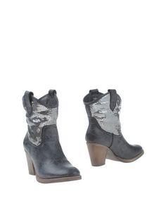 Черные Полусапоги и высокие ботинки Francesco Milano