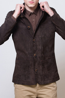Куртка из замши Alfredo Galliano