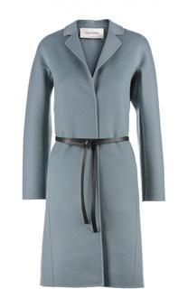 Пальто с поясом Valentino