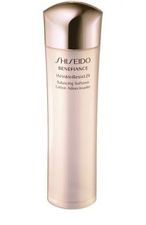 Балансирующий софтнер с комплексом против морщин 24 часа Benefiance Shiseido