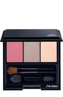 Тени-трио для век с шелковистой текстурой и эффектом сияния RD711 Shiseido