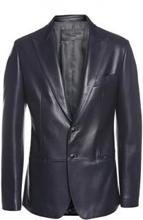 Пиджак кожаный Dolce&Gabbana Dolce&;Gabbana