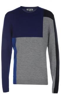 Пуловер вязаный MCQ