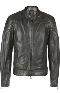 Куртка кожаная Belstaff