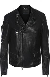 Куртка-бомбер кожаная Diesel