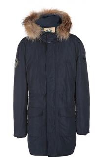 Пальто с капюшоном La Martina