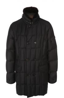 Пальто с воротником Moorer