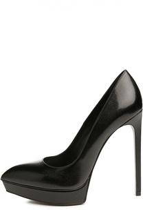 Черные Туфли Saint Laurent