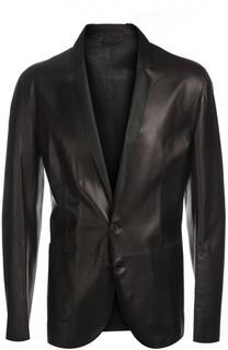 Пиджак кожаный DROMe