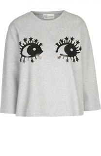 Пуловер джерси R.E.D. Valentino
