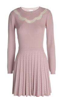 Платье вязаное R.E.D. Valentino