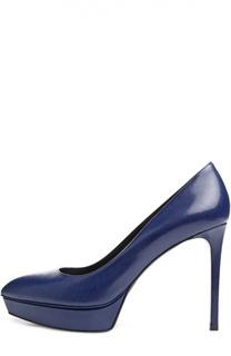 Синие Туфли Janis Saint Laurent