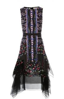 Платье с поясом Peter Pilotto
