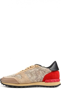 Кроссовки Lace Sneaker Valentino