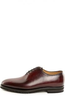 Туфли с колодками Kiton