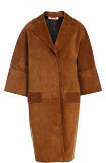 Пальто замшевое Marni