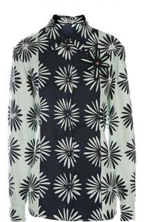 Блуза с брошью Issa