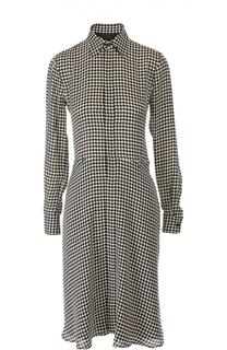 Платье с ремнем Ralph Lauren