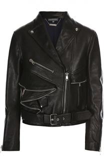 Куртка кожаная Alexander McQueen