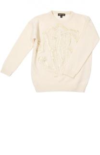 Пуловер джерси Roberto Cavalli