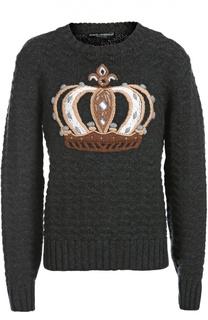 Свитер вязаный Dolce&Gabbana Dolce&;Gabbana