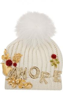 Шапка вязаная Dolce&Gabbana Dolce&;Gabbana