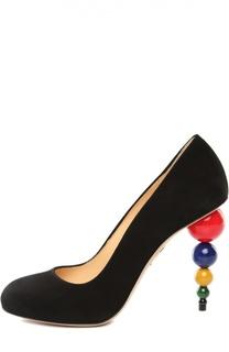 Черные Туфли Charlotte Olympia