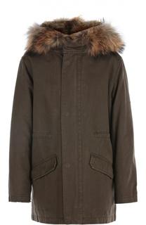 Куртка с подстежкой Yves Salomon