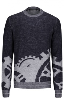 Пуловер вязаный Frankie Morello